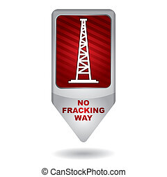 Shale gas tag - antifracking - Tag for the exploitation of...