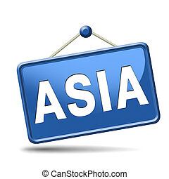 Asia icon - asia for travel and tourism vacation destination...