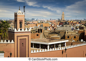 Medina of Marrakesh - Historical walled city of Marrakesh