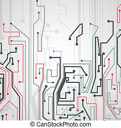 Circuit board background - Circuit board background,...