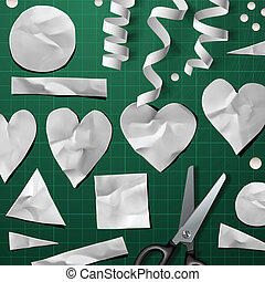 Design elements for Valentine's Day Party