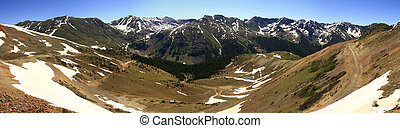 Rocky Mountains - Section of the Rocky Mountains called the...