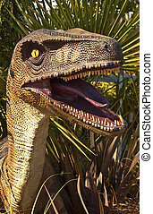 Dinosaur - A reproduction of a dinosaur head.