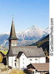 Rueras, canton Graubunden, Switzerland