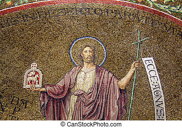 John the Baptist at the Church of the Assumption of the...