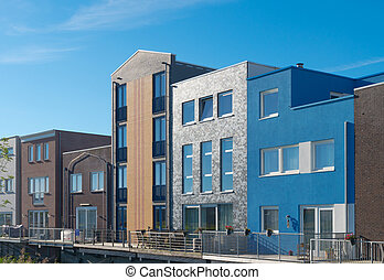 new housing - modern new residential houses in almere,...