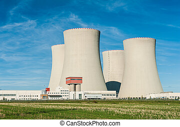 Nuclear power plant Temelin in the Czech Republic