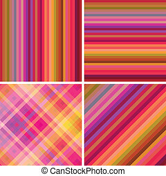 Abstract background stripe set
