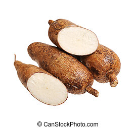 manioc (cassava) - chopped and whole manioc (cassava)...