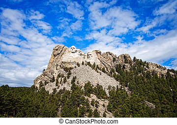 Mount Rushmore - National Memorial, Mount Rushmore, South...