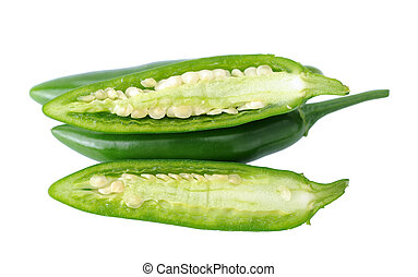 super serrano peppers - chopped and whole super serrano...