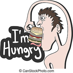 Im hungry - Creative design of Im hungry