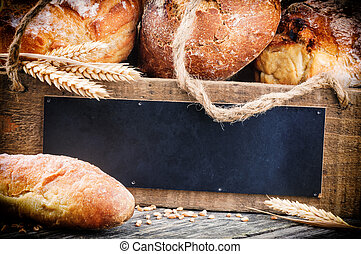Various traditional bread