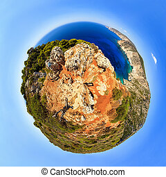 Planet Zakynthos - Beautiful little planet of the coast at...