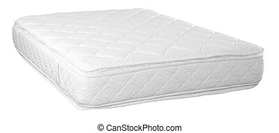 Mattress. Isolated - Orthopedic mattress