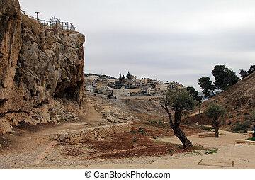 Kidron Valley, Jerusalem, Israel - The Kidron Valley...