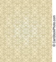 seamless pattern Damask