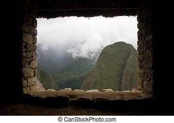 Machu Picchu is a pre-Columbian Inca site located 2,430...