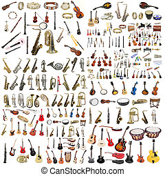 musical instruments - The image of musical instruments...
