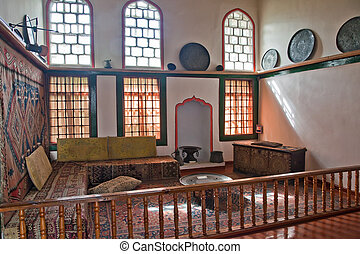 Bakhchisaray Palace, woman half, harem - Ancient palace...