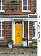 Yellow door