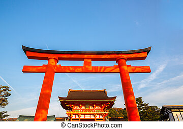 Fushimi Inari Shrine - Torii at Fushimi Inari Shrine Kyoto...