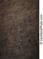 stone texture - A high quality dark brown stone texture