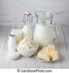 lechería, productos