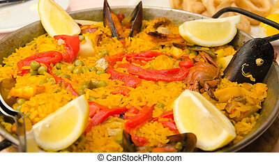 arroz,  paella