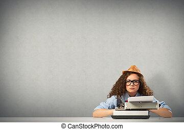 femme, écrivain