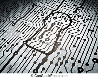 Protection concept: circuit board with Keyhole - Protection...
