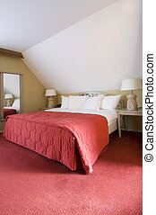 Cottage Bed - A luxury double bed in a warm