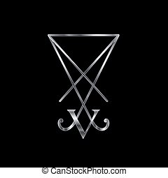 Sigil Of Lucifer Silver - Sigil Of Lucifer A Symbol Of...