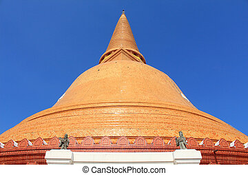 Phra Prathom Jedi, The big Pagoda of Thailand