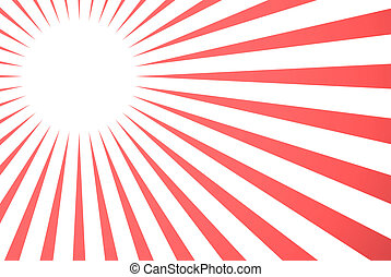 vector background - vector red retro burst abstract...