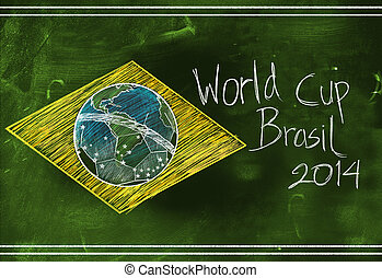 World cup Brasil 2014 sketch