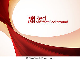 Red Abstract Background - Red abstract background series