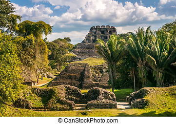 Xunantunich View - Xunantunich - Mayan Ruins