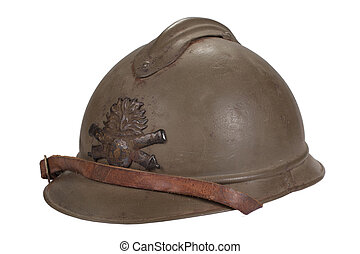 Acero, casco,  WW1