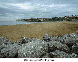 Basque Country beach - Peace on the beaches of the Basque...