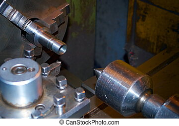 Lathe, cutting tool - Photo of the Lathe and cutting tool