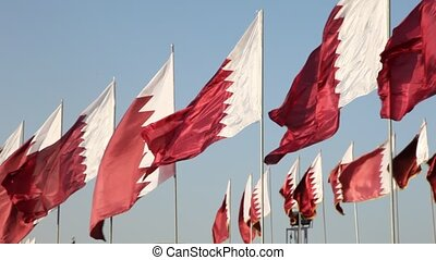 Flags of Qatar - National flags of Qatar, Middle East