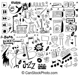 doodles funny music background