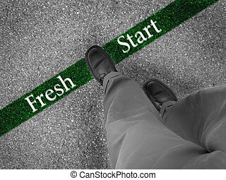 Walking Towards a Fresh Start