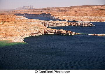 Glen Canyon, Lake Powell, Arizona , USA