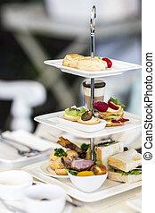 English high tea set