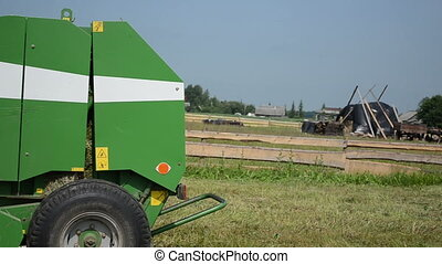 cut grass equipment - cut grass compress equipment turns the...