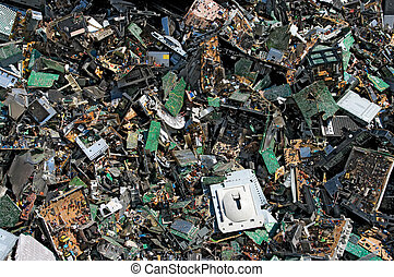 Circuit board trash - Obsolete circuit boards for recycling