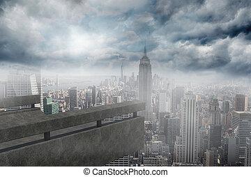 sacada, negligenciar, cidade