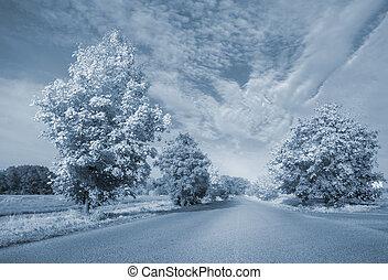 Warped road